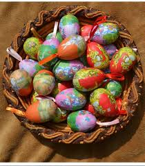 foam easter eggs 12 pcs lot mixed style easter eggs diy easter decoration idea