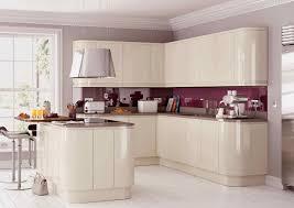 rimini handleless cream pebble kitchens