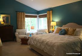 Master Bedroom Makeover by Master Bedroom After Makeover King Bed Hooked On Houses
