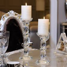 candelabra centerpieces glass candle holders feng shui wedding columns candelabra