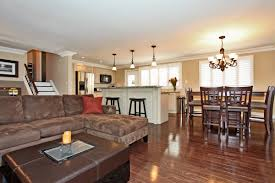 Living Room Decorating Ideas Split Level Open Concept In A Split Level Needs More Cabinets Floor To