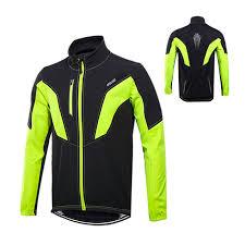 waterproof softshell cycling jacket thermal cycling jacket winter warm bicycle mtb clothes windproof