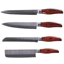 Reviews Of Kitchen Knives Reviews Xyj Brand Kitchen Knives Set 7 8 8 8 Damascus Chef Knife