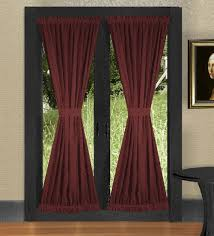 Wine Colored Curtains Burgundy Wine Door Curtains Enhance Your Home Entrance
