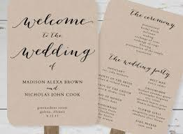 wedding program fan template wedding program fans lovely wedding program fan template printable
