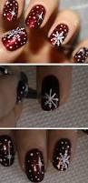20 diy christmas nail art ideas for short nails snowman crafts