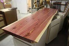 live edge table top cedar table ebay