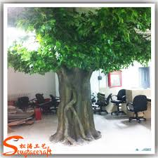 10ft fiberglass trunk artificial banyan tree ficus tree