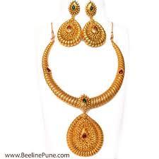 necklace golden images Pipe necklace golden spring metal neck fit torques choker hayagi jpg