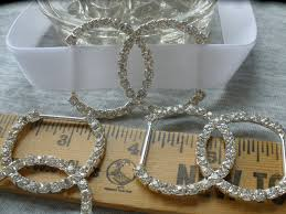 bling home decor silver rhinestone 75