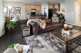 Living Room Brown Couch Brown Sofa Living Room Design Home Designs - Family room leather furniture