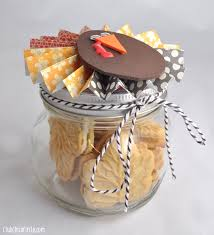 Jar Thanksgiving Thanksgiving Paper Flower Jar Gift Idea