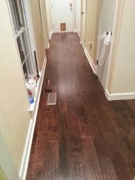 Laminate Flooring Door Jamb Amber Bottle House Floors Part 1