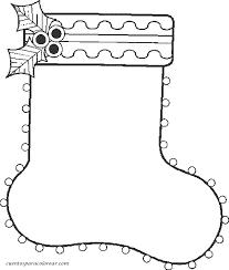 dibujos navideñas para colorear dibujos para colorear calcetines y botas navideñas