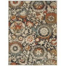 Mohawk 8x10 Area Rug Shop Mohawk Home Jeslynn Indoor Nature Area Rug Common 8 X 10