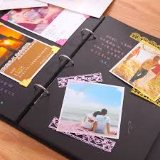 creative photo albums big album diy handmade baby album stick korea