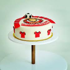 manchester united birthday cake picture joob joob designer