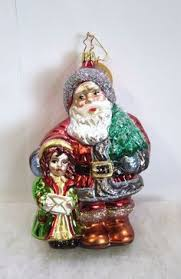 inge glas of germany blown glass ornament and ornament