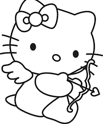 46 printable kitty coloring images