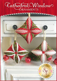 cathedral window ornaments kit