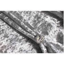Crushed Velvet Fabric Upholstery Geneva Crushed Velvet Upholstery Fabric In Silver Colour