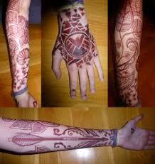 p chest hennas tattoo and mehndi