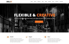 bootstrap themes free parallax 40 best free one page bootstrap websitetemplates of 2017