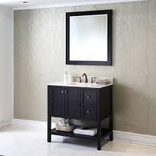 36 White Bathroom Vanity by Virtu Usa Es 30036 Wmsq Es Winterfell 36 Inch Single Bathroom