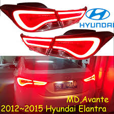2010 hyundai elantra tail light assembly elantra taillight md avante 2012 2015 free ship led 4pcs set elantra