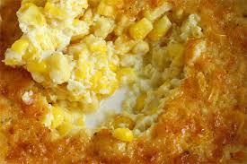 corn pudding on closet cooking