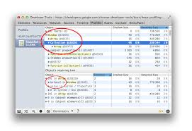 how to record heap snapshots tools for web developers google