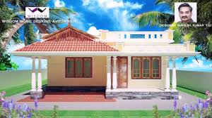 1000 Square Foot Floor Plans by House Plans Kerala Style 1000 Square Feet Youtube