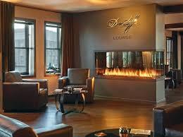 gas fireplace decorative fronts custom peninsula cigar lounge