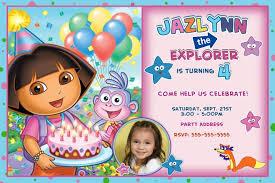 dora the explorer birthday invitations dolanpedia invitations ideas