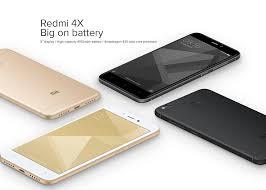 XIAOMI Redmi 4X 3GB 32GB Smartphone Black