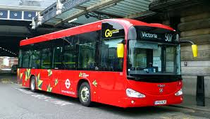 irizar battery electric buses in london youtube