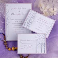 simple wedding invitations simple winter tree wedding invitations ewi139 as low as