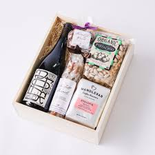 Wine Gift Boxes Potek Wine Gourmet Gift Box The Santa Barbara Company