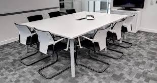 Black Boardroom Table Contemporary Boardroom Table Steel Rectangular Circular