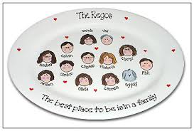 personalize plate all in the family plate personalized plate serendipity crafts