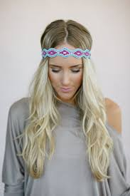 beaded headband psychedelic beaded headband three bird nest