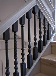 Stair Banisters Railings Best 25 Black Banister Ideas On Pinterest Staircase Remodel