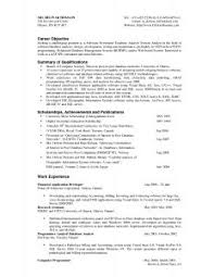 Objective In Resume For Job by Examples Of Resumes 87 Terrific Example A Great Resume Title