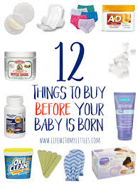 12 things to buy before your baby is born life with my littles