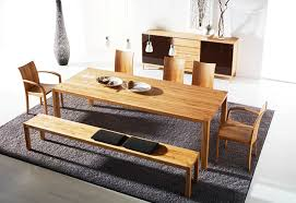 modern dining room sets modern wood dining room table pjamteen