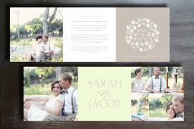 vintage save the date trifold card template instant download