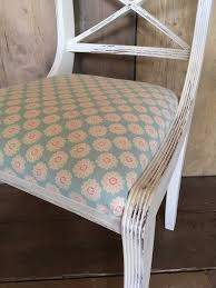 shabby chic upcycled vintage queen anne chair in annie sloan