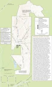 Indian Cave State Park Map by Brushy Peak Regional Preserve