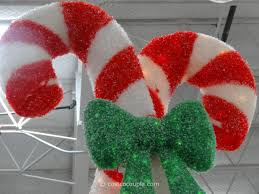 Candy Cane Outdoor Decorations Lighted Candy Canes For Outdoors Sacharoff Decoration