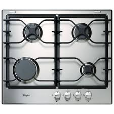 Gas Stainless Steel Cooktop Whirlpool 24